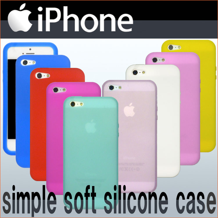 【送料無料】 iPhone6s 6 iPhone6sPlus 6Plus iPhone5S シンプル シリコン ケース カバー iPhone6+ アイフォン6プラス アイホン6プラス スマホケース iPhone-5 iPhone 5 APPLE アップル シリコンケース アイホン6プラスケース シリコンケース シリコンカバー