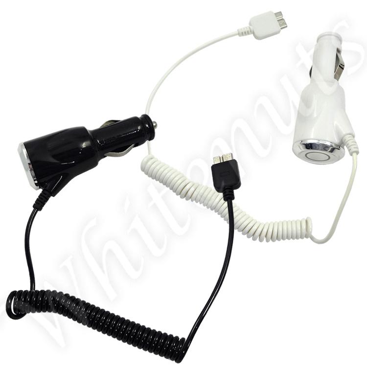 【送料無料】 スマートフォン USB3.0 形状 DCカーシガーアダプター 車用充電器 GALAXY S5 GALAXY NOTE3 に カールタイプ 国内普通車12/24V用 大容量の2.0A/h! SC-04F SC-01F SCL23 SCL22 アダプター 充電器 チャージャー カーシガー ギャラクシーS5 ギャラクシーノート3 サ